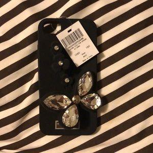 NWT Henri Bendel Silicone Phone Case iPhone 6/7